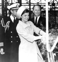 Jackie O christening champagne
