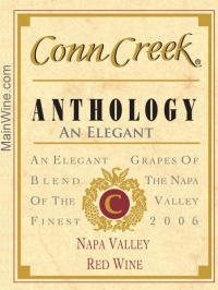 2006 Conn Creek Anthology